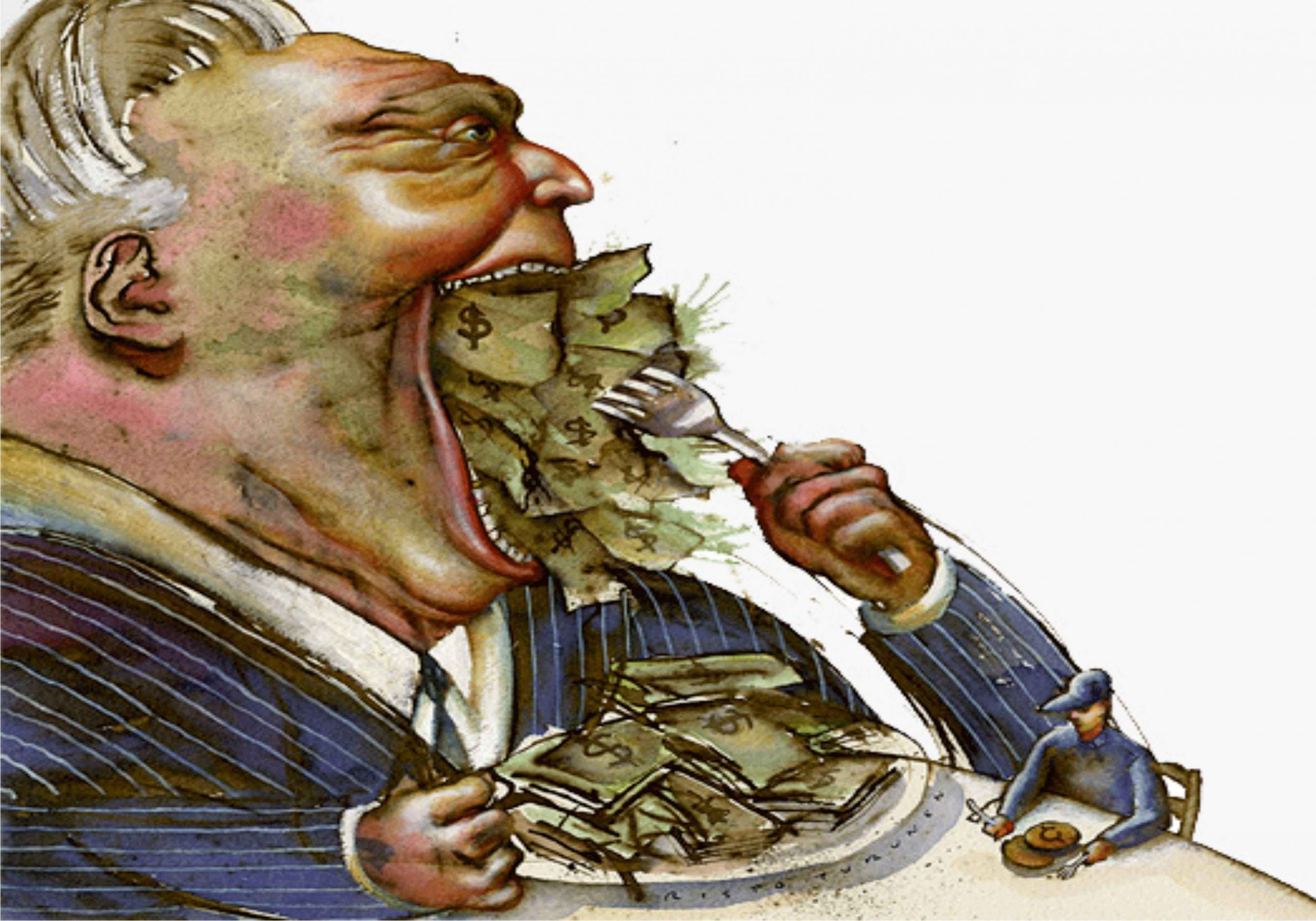 Does Money Make Us Greedy and Self-Inflating?