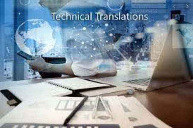 The specialized technical translation online