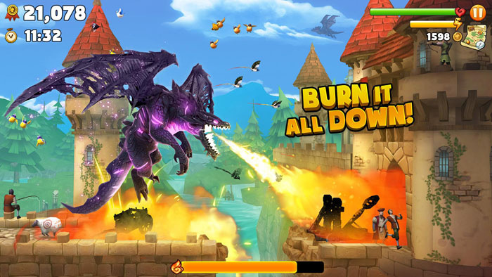 Download Free Hungry Dragon 3.8 MOD APK