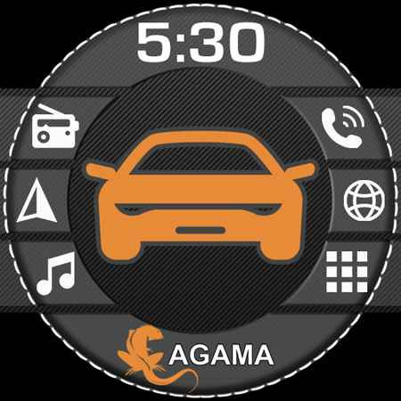 AGAMA Car Launcher Free Download Android
