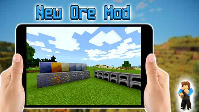 Ore Mod for Minecraft PE for android